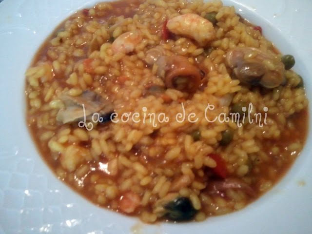 Arroz caldoso (Thermomix)