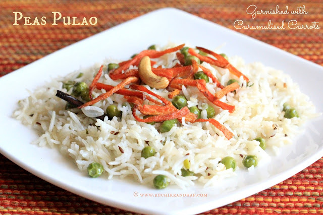 Peas Pulao & a Product Review of Star Saver Tibar Basmati Rice & Star Cow Ghee
