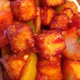 Spicy Tomato Paneer by M. Kuehn