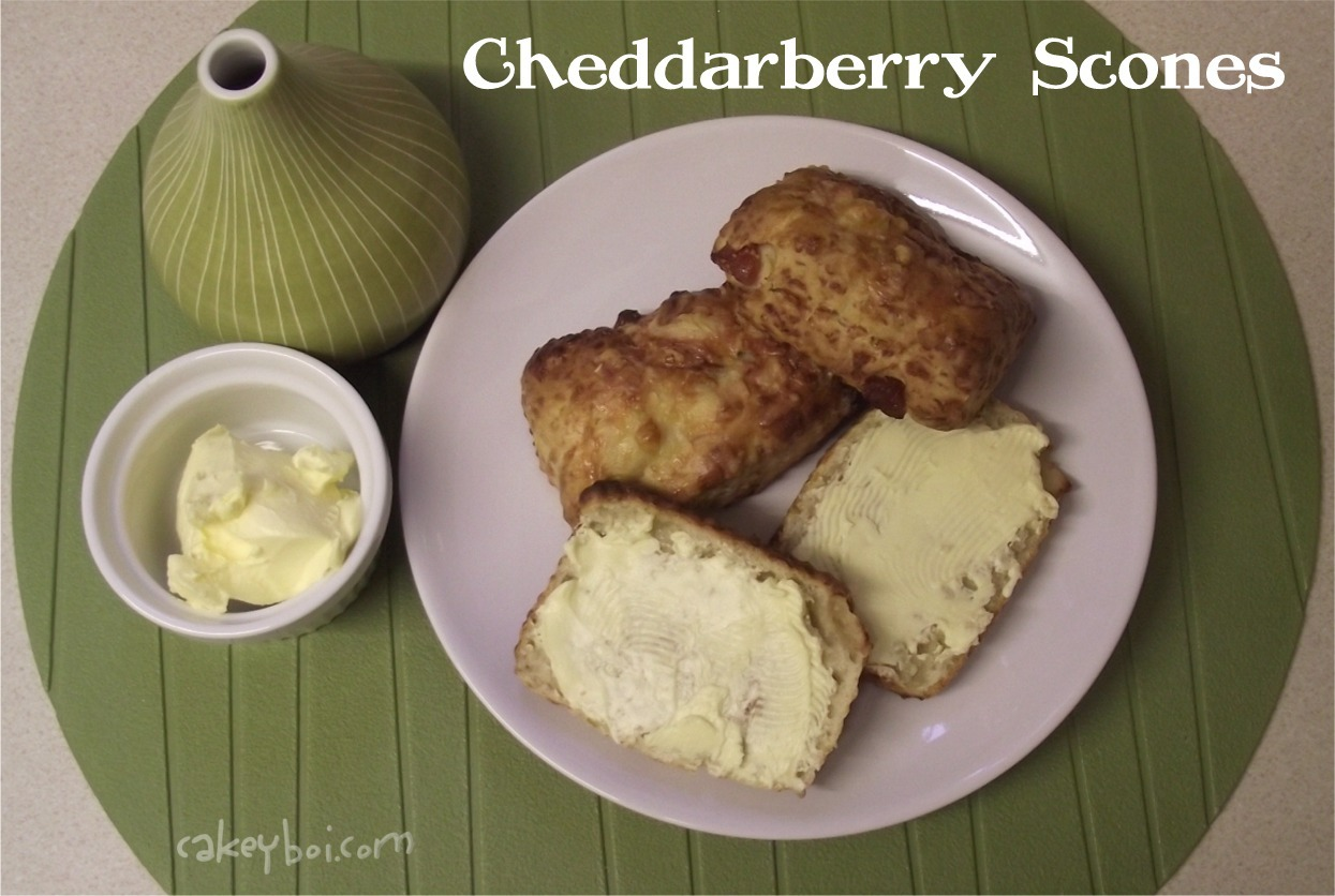 unusual cheese scones