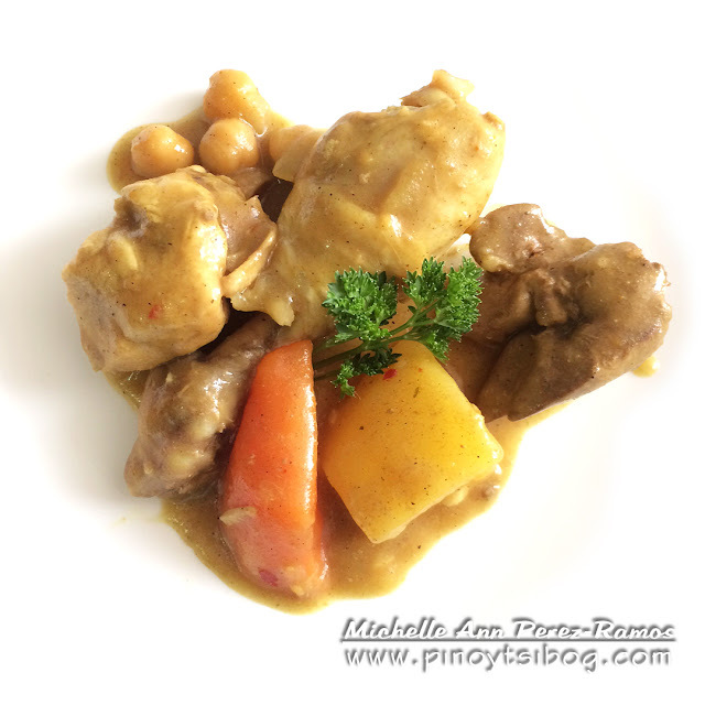 Chicken Curry (Pinoy Style)