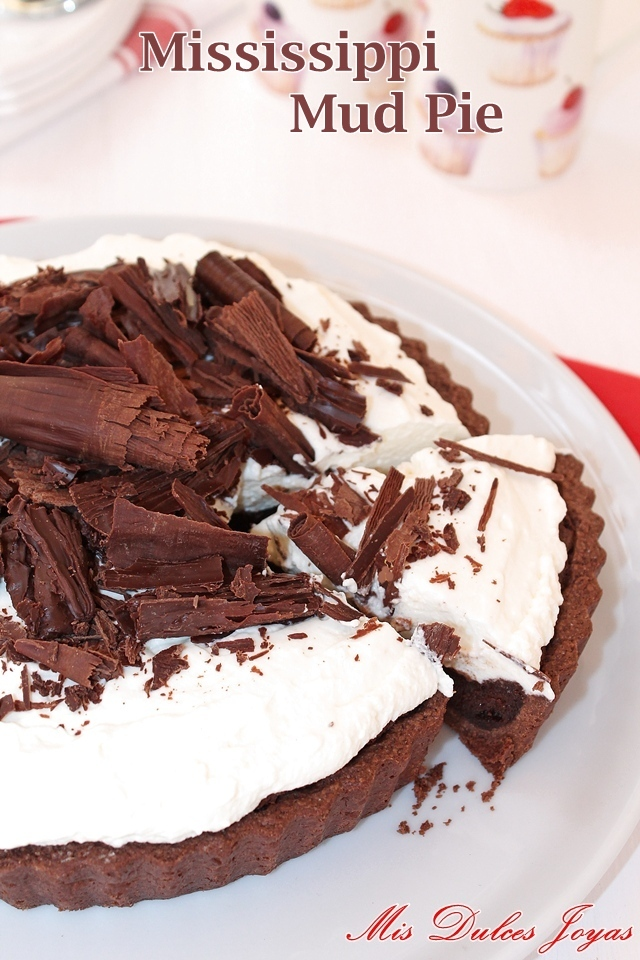 Tarta de chocolate del Misisipi - Mississippi Mud Pie