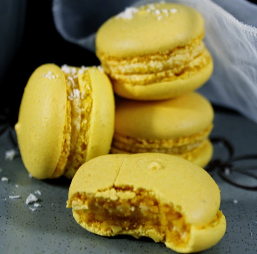 Macarons passion-coco