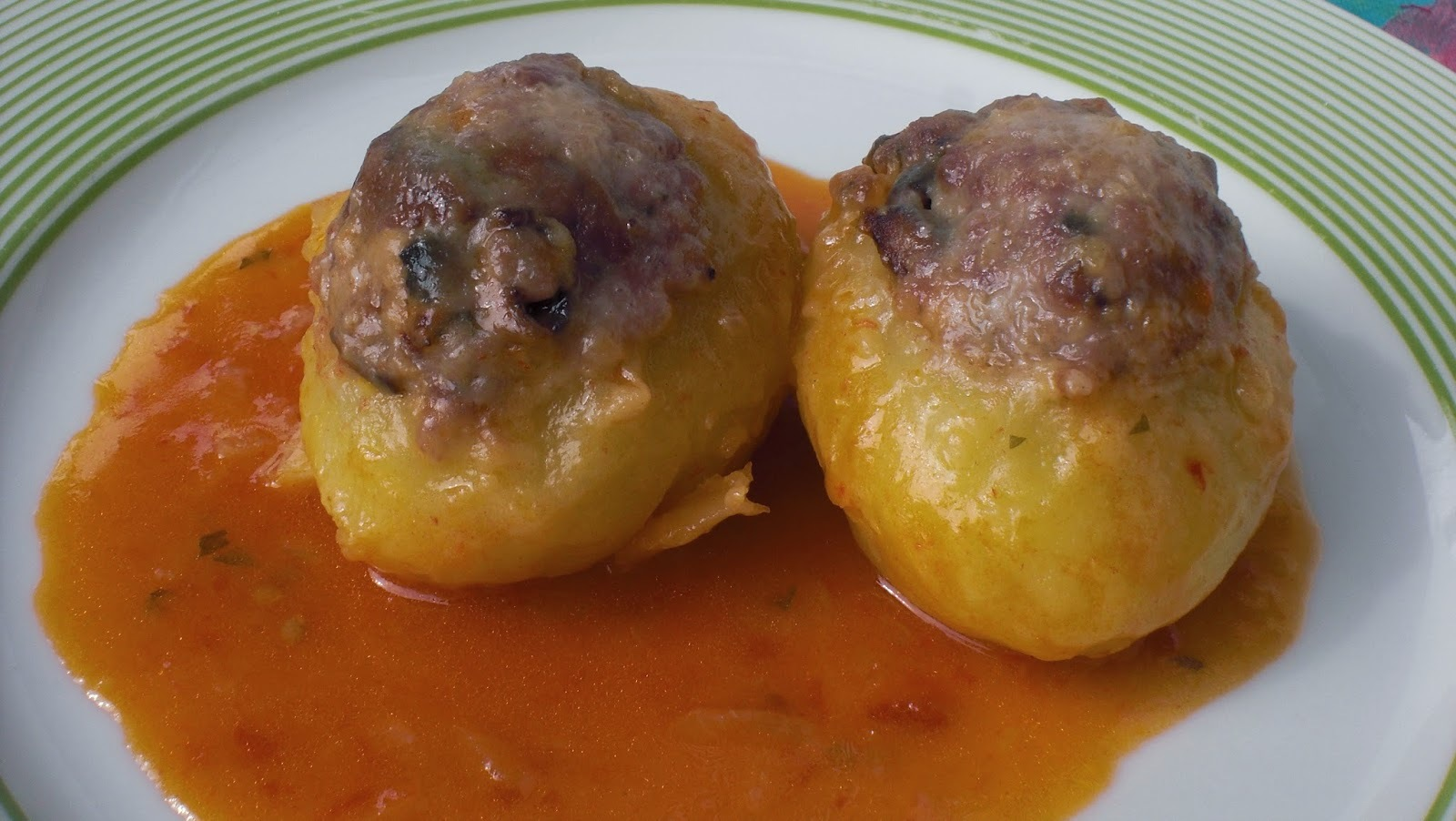 patates farcides de carn i rovellons