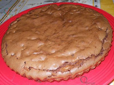 Morenito (brownie) con nueces (Thermomix)