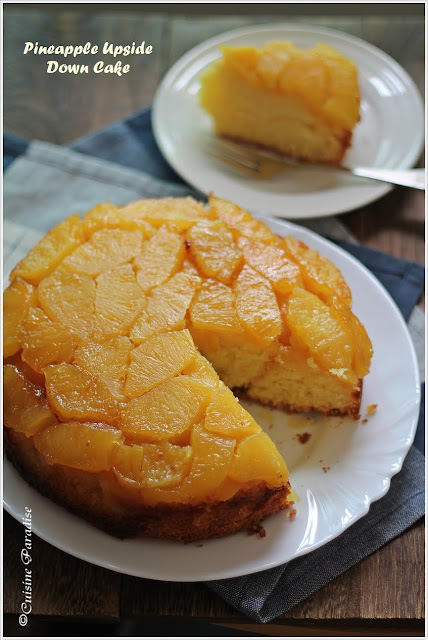 {Photo Friday} Pineapple Upside Down Cake