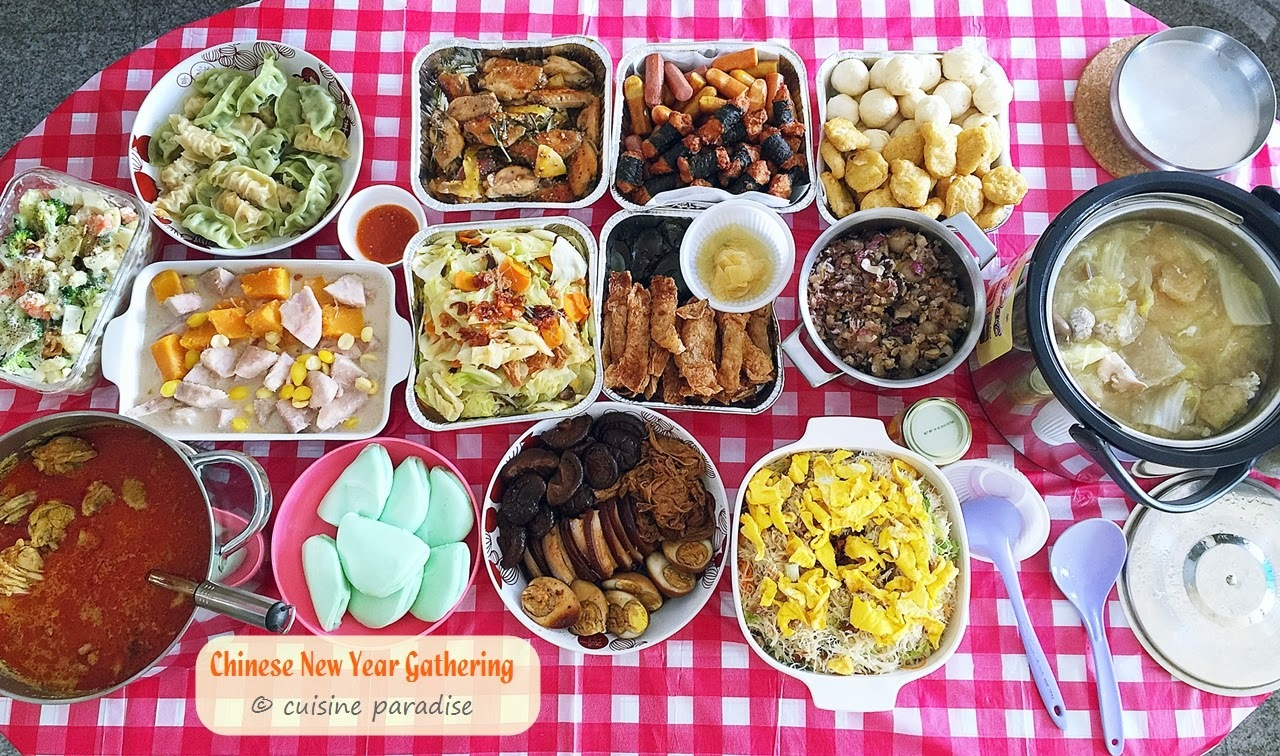 [With Recipes] 2015 Chinese New Year Lunch Gathering With Relatives