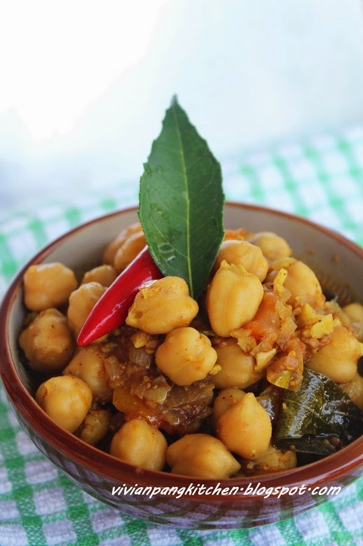 Chana Masala - Chickpea Stew with Tomatoes