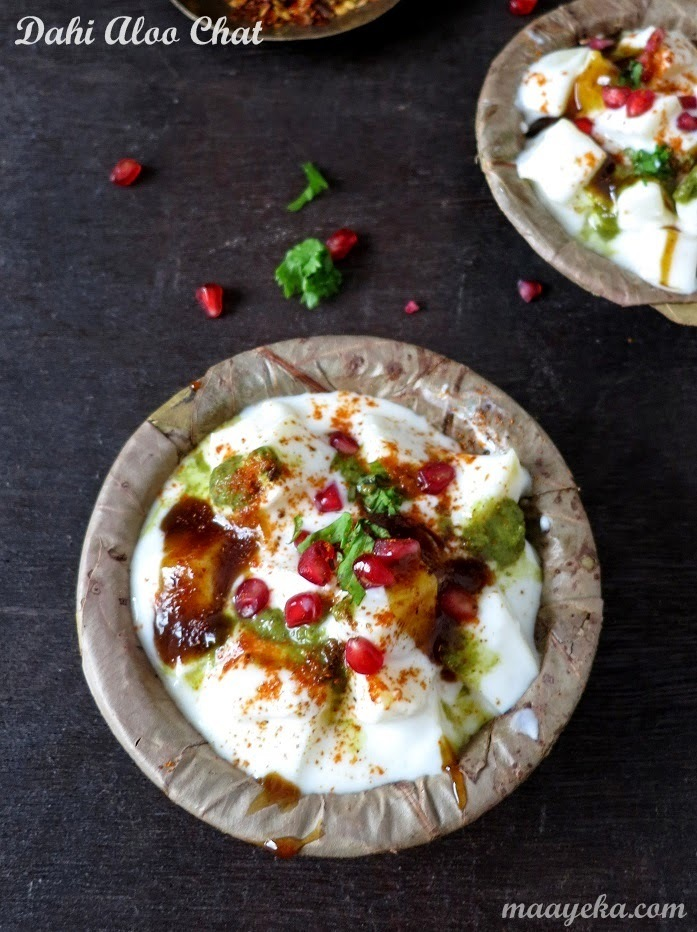 Dahi Aloo Chat