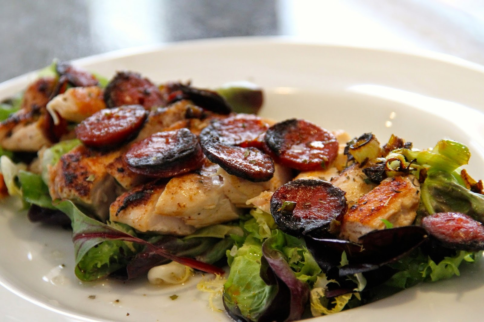 Lifestyle | Chicken and Chorizo Salad