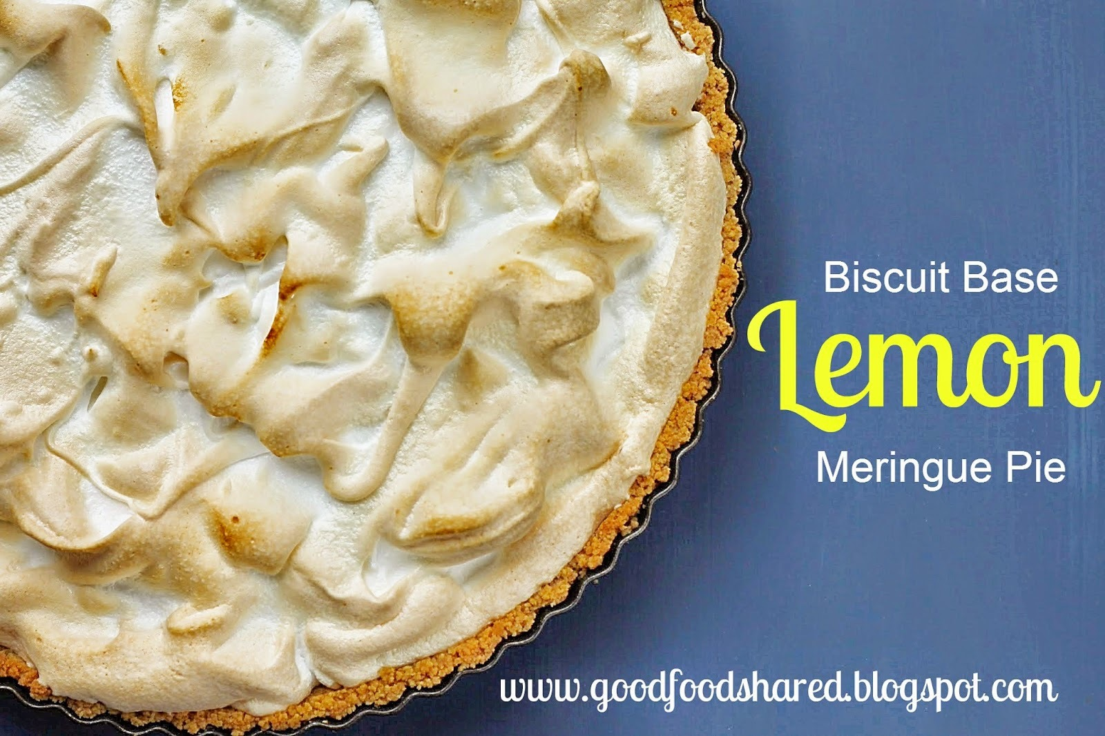 Biscuit Base Lemon Meringue Pie