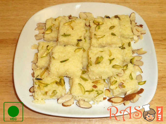 Kalakand - Indian Sweet Recipe (Microwave Style)
