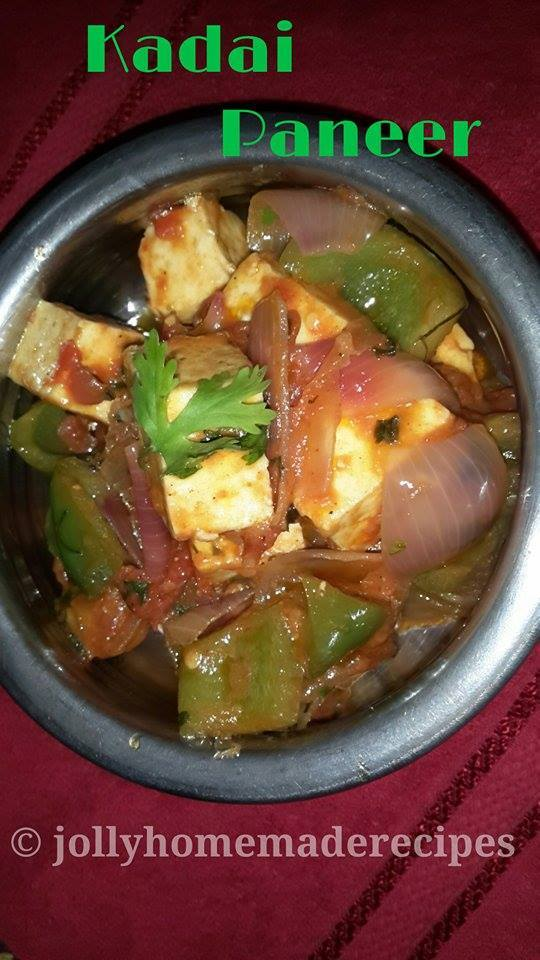 Kadai Paneer Recipe, How to make Restaurant Style Kadai Paneer Recipe