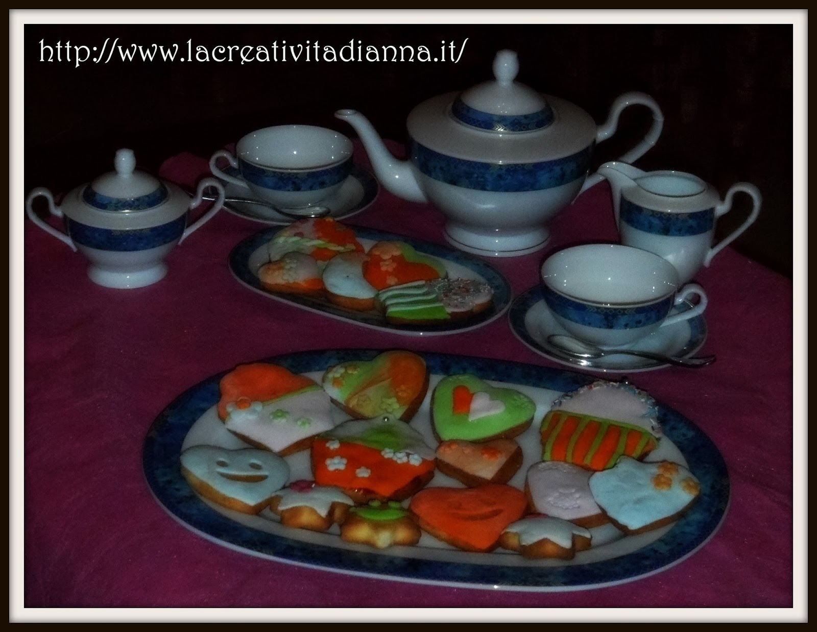 Biscotti con glassa Decora.it