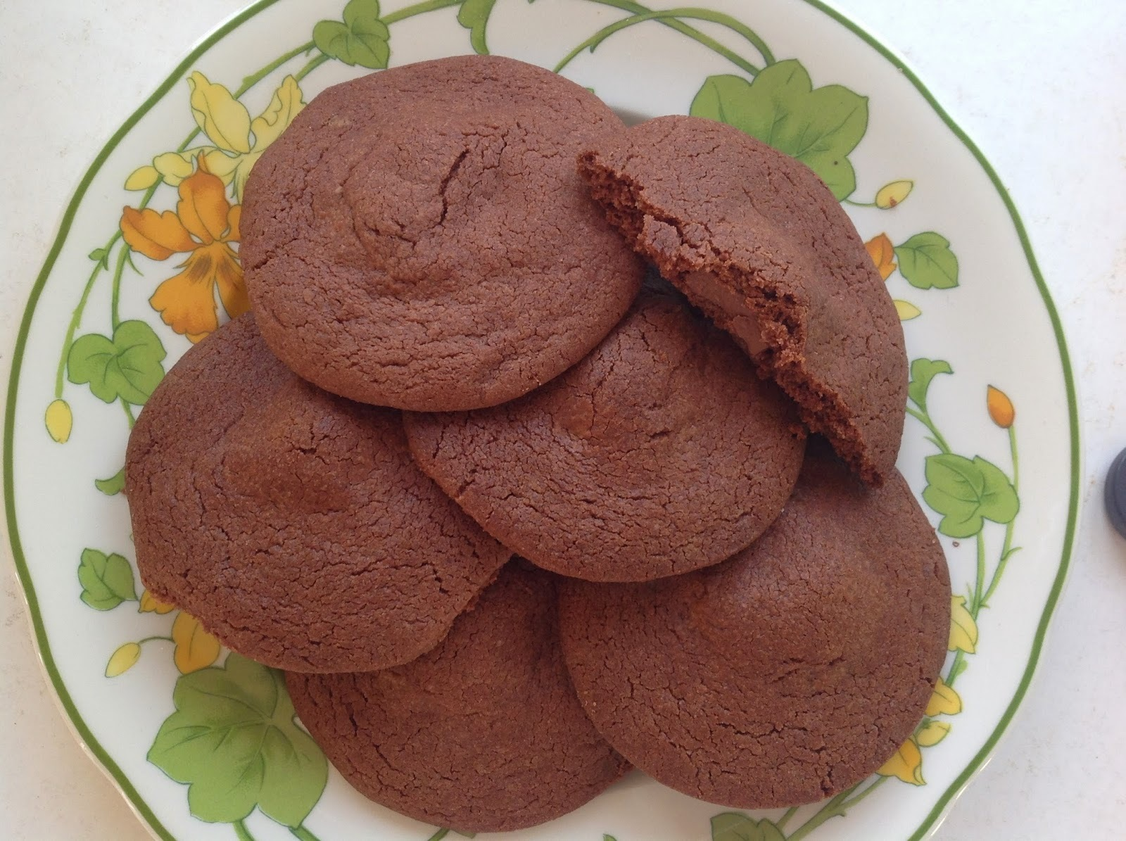 Jamie Oliver's Chocolate Biscuits with Soft Chocolate Centres