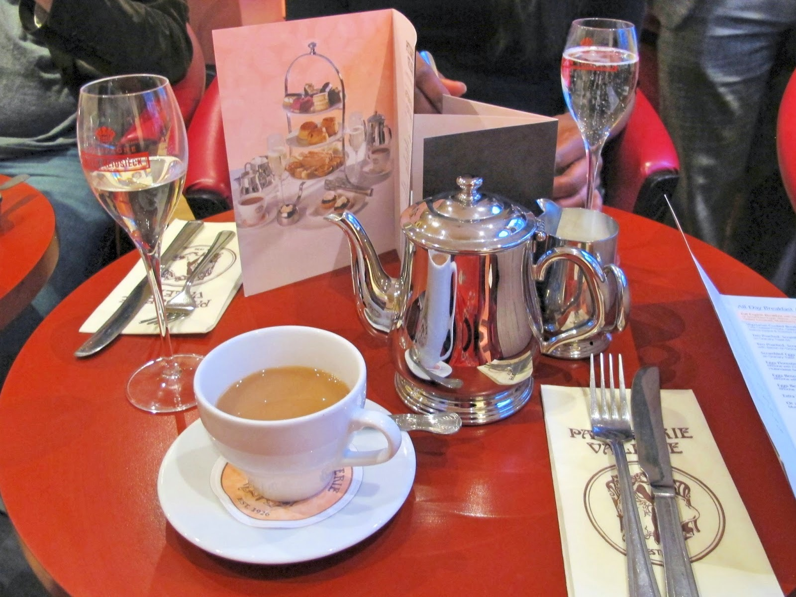 Review: Patisserie Valerie Afternoon Tea