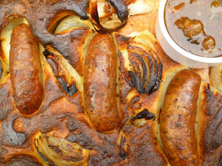 a simple midweek supper: toad-in-the-hole
