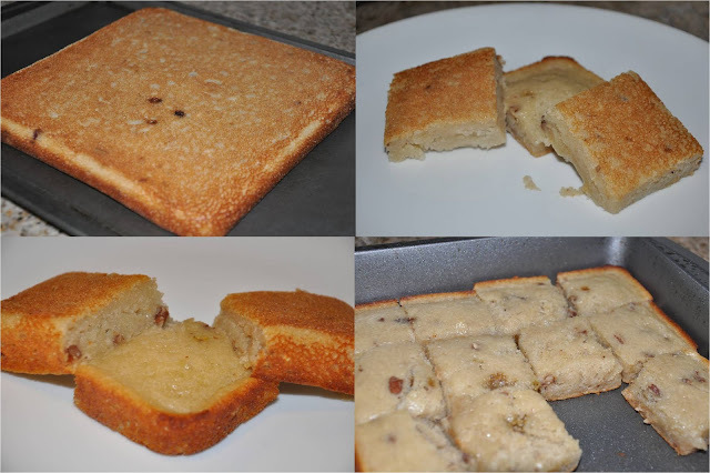 Soft/Moist Egg-less Banana Cake