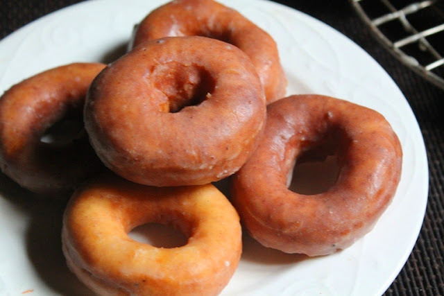 Easy Glazed Doughnuts Recipe - How to Make Doughnuts without Yeast - Yeast Free Cake Doughnuts Recipe