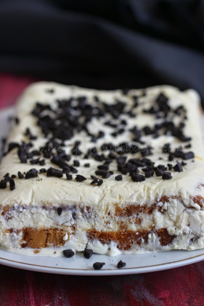 Ice-Cream Cake, With Kellys Of Cornwall
