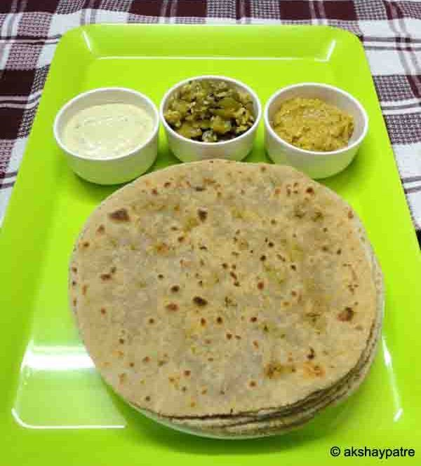 Broccoli stuffed paratha - wheat flour broccoli paratha - broccoli recipes