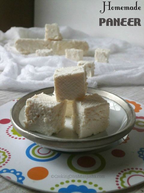 How to make Paneer at home (Video )