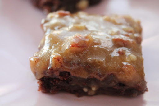 Sinner Thursdays - Praline Topped Fudgy Brownies