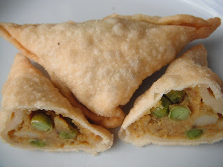 samosa - gluten free and vegan
