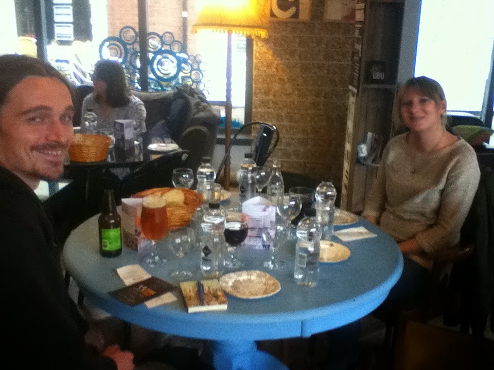 Cheese and Wine tasting at St Martin's Tea and Coffee, Leicester