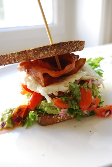 Sunday Breakfast: Mexican Club Sandwich...
