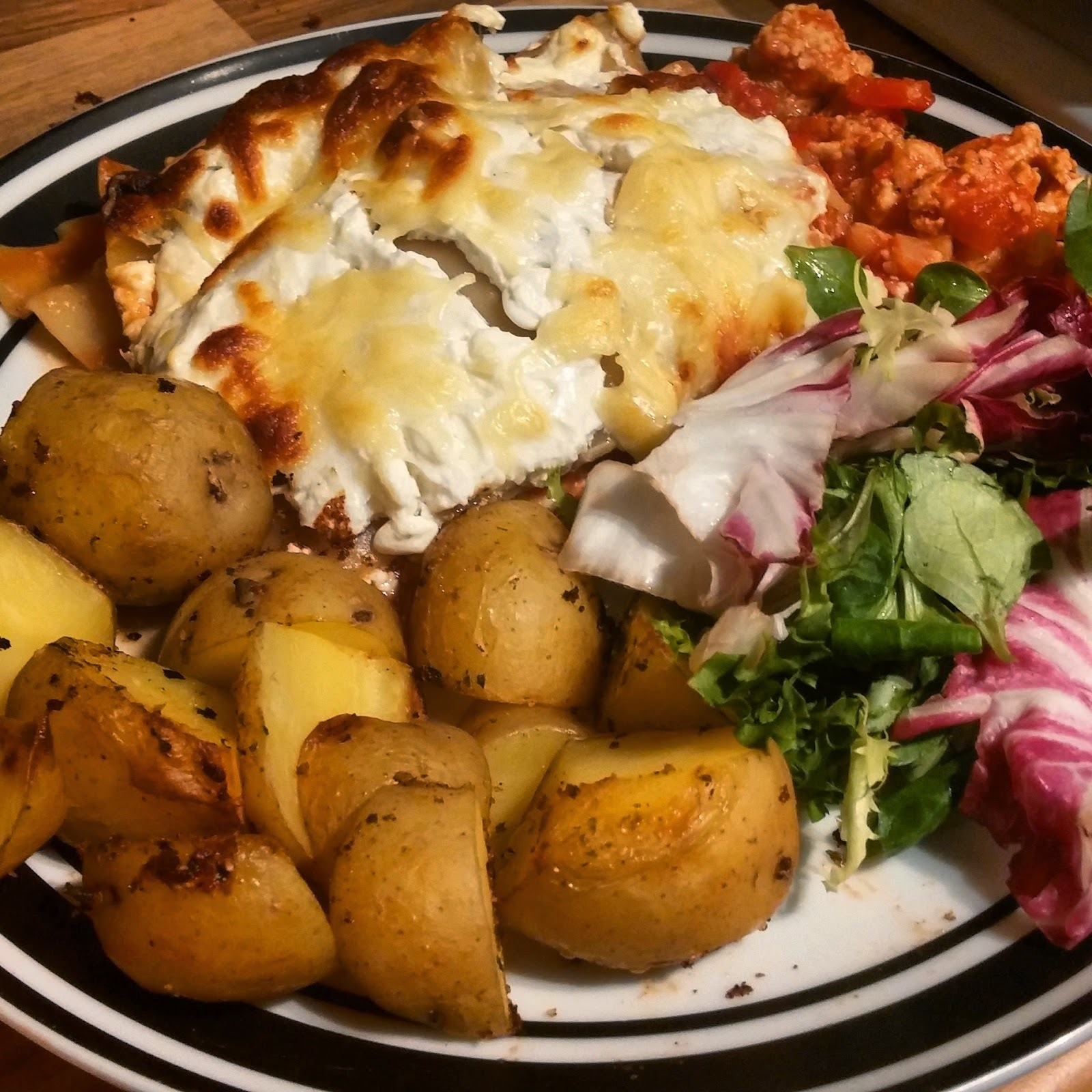 Slimming World: Syn Free Turkey Lasagne