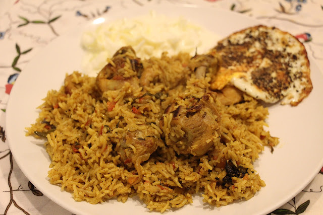 Chicken Biryani 2