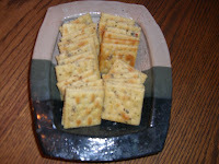 Tribulations & Hesitations in the Kitchen – Spicy Saltine Crackers