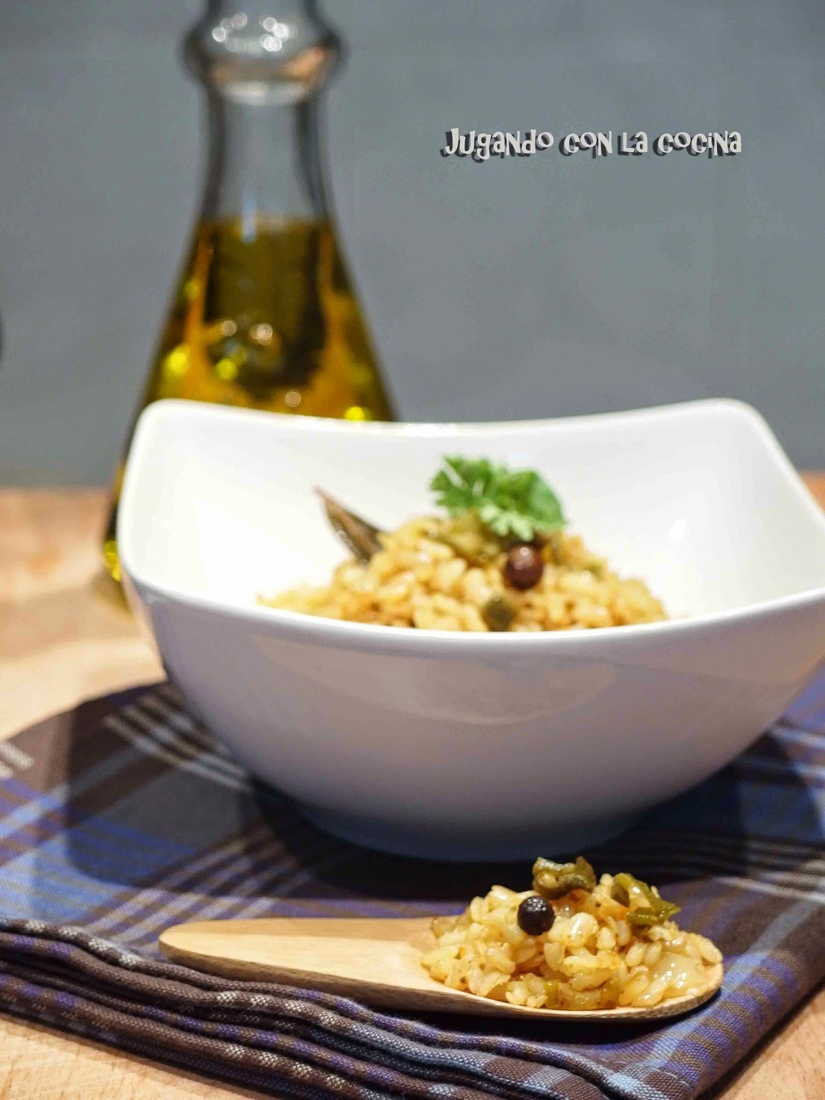 Arroz integral al Curry Rojo