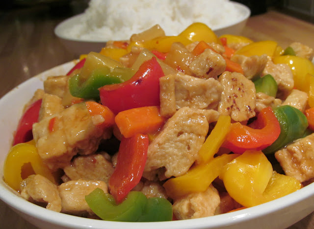 Hairy Bikers Sweet and Sour Chicken (Lo Cal)