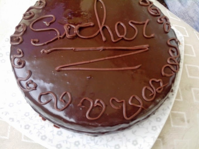 TORTA DE CHOCOLATE tipo SACHER