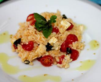 Resultado de imagem para arroz integral com tomate