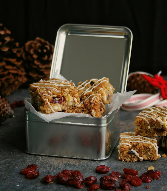 Cranberry and White Chocolate Crunchies