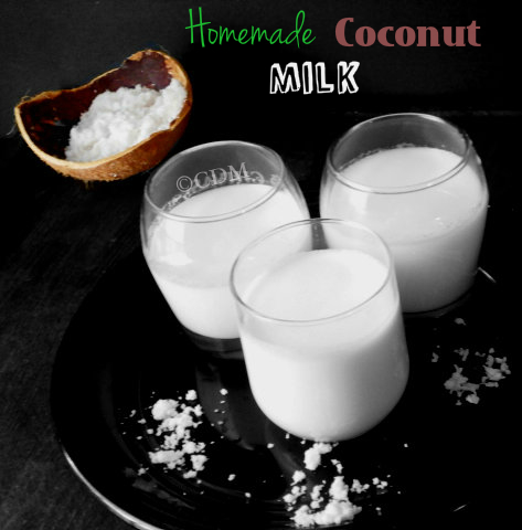 How to make/extract homemade coconut milk in Kerala style|To make thenga paals at home