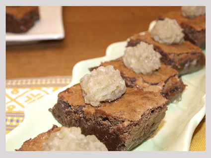 brownie marron glace y tres secretos para triunfar