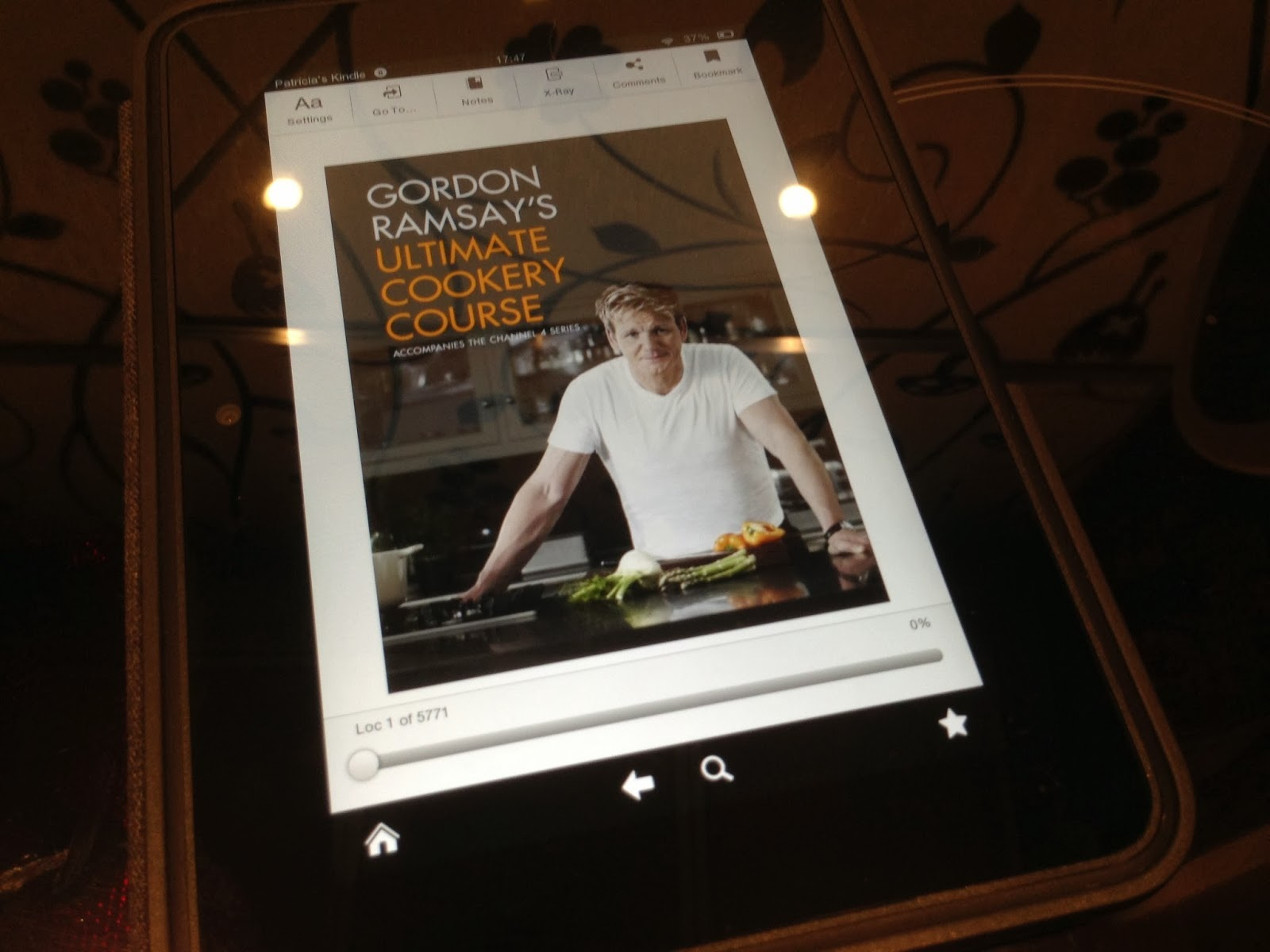 Livros #04: Gordon Ramsay's Ultimate Cookery Course