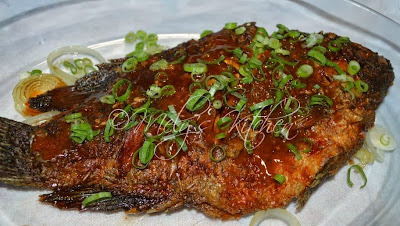 Tilapia with Thick Sauce
