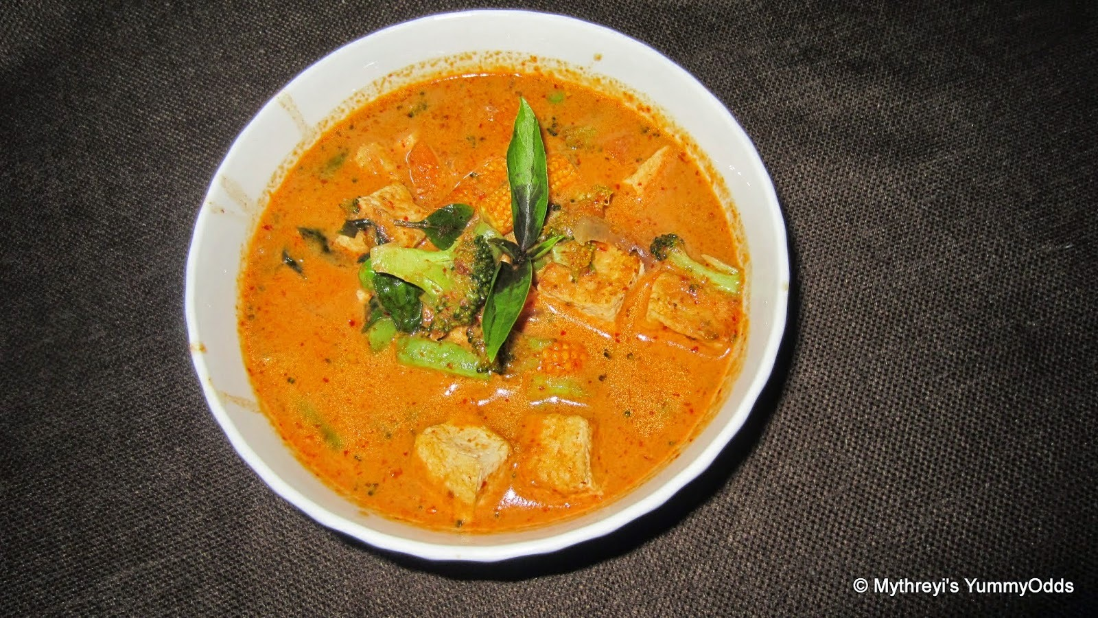 Spicy Thai Red Curry