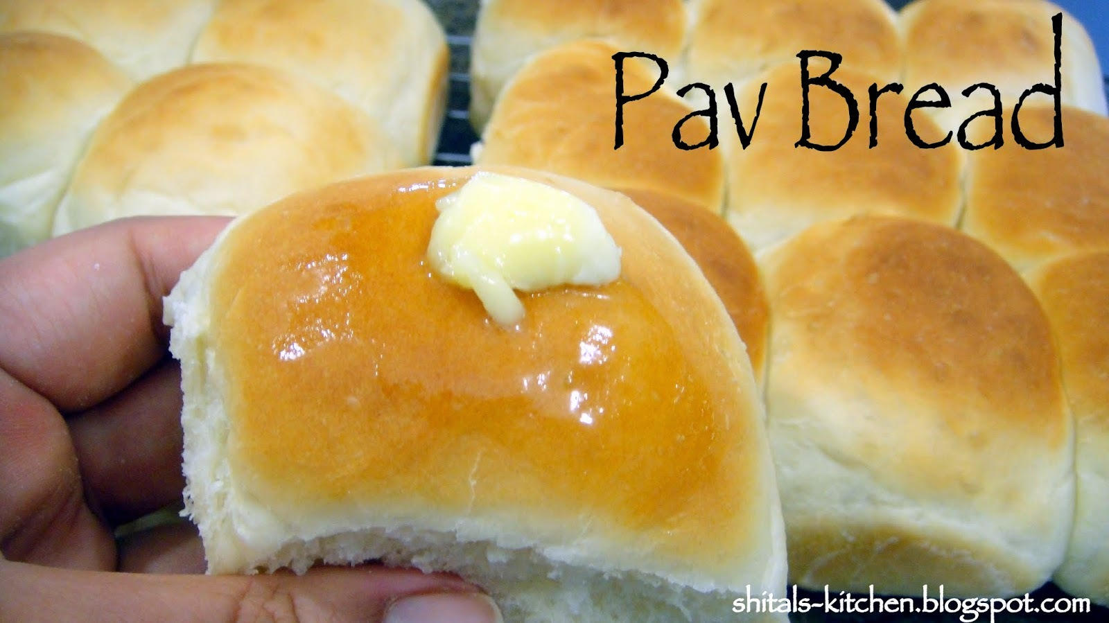 bread pav without yeast