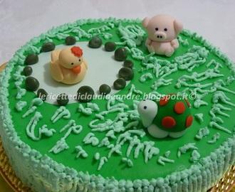 Ricette di decorazioni per torte compleanno per bambini in pasta di ...