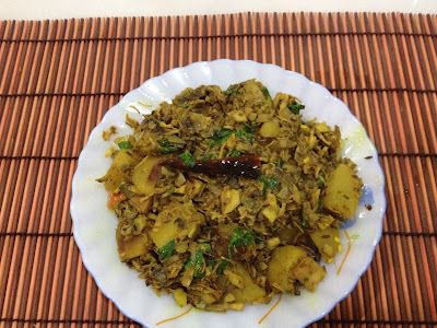 Mochar Ghonto: Banana Blossom Curry