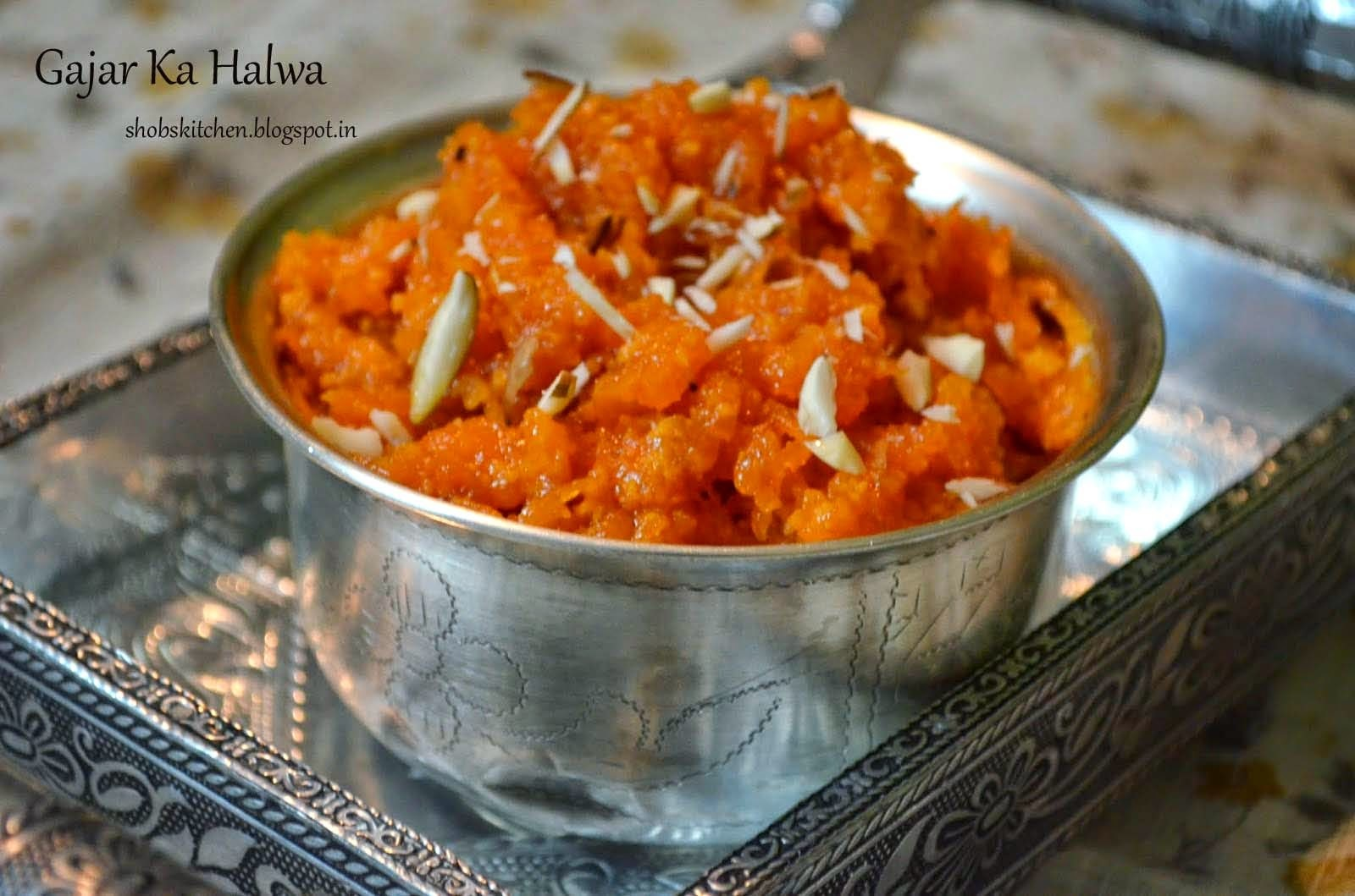 Launching My FB Page & My Favourite Gajar Ka Halwa!