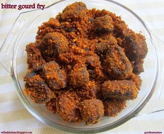 Aa kakarakaya fry recipe