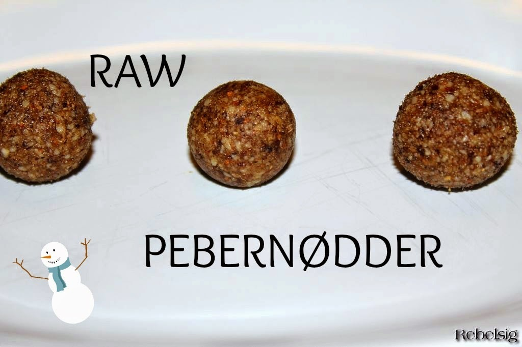 #6. december - raw pebernødder