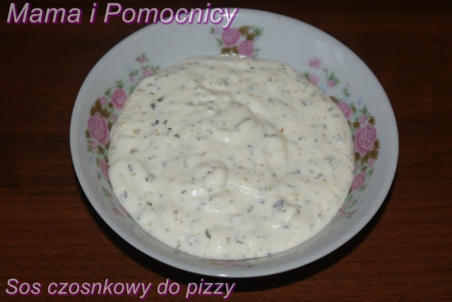 Sos czosnkowy do pizzy